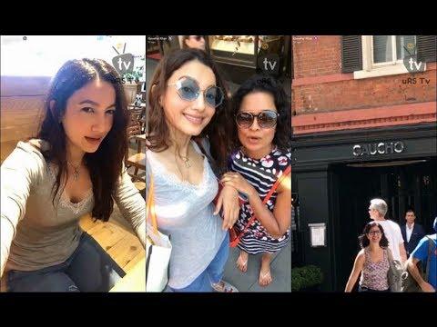 Gauhar Khan   Snapchat Videos 17 July, 2017   uRS TV thumbnail