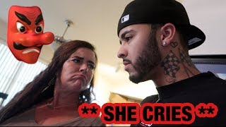 BEING MEAN To My Family To See How They React ** She CRIES **