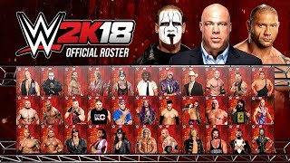 WWE 2K18 Roster All Confirmed Superstars So Far 2 (WWE 2K18 News)