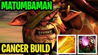 Cancer Build Octarine Radiance - Bristleback Top 1 World Matumbaman - Dota 2