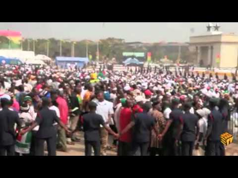 SaharaTV covers the inauguration and swearing in of President John Dramani Mahama of Ghana in January 2013.