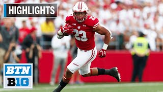 Highlights: Taylor, Badgers Run Past Wolverines | Michigan at Wisconsin | Sept. 21, 2019