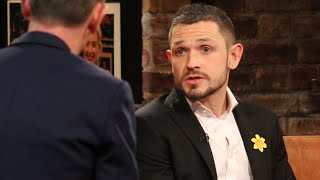 Johnny Ward talks about losing his father mid Dancing with the Stars | The Late Late Show | RTÉ One