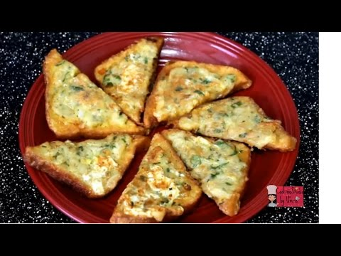 Crispy Potato Toast- Bangladeshi Snacks