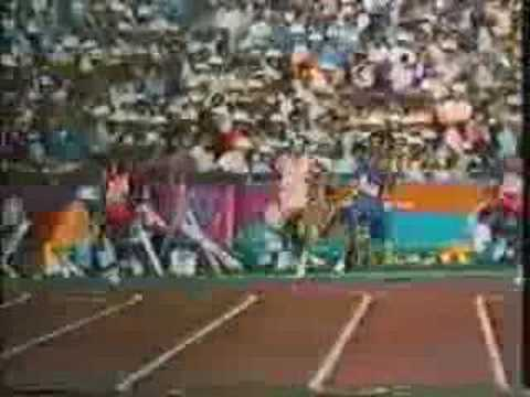 1984 Los Angeles Olympics 800m Final