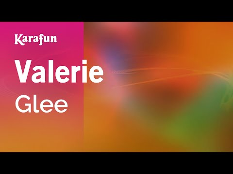 Karaoke Valerie - Glee * video