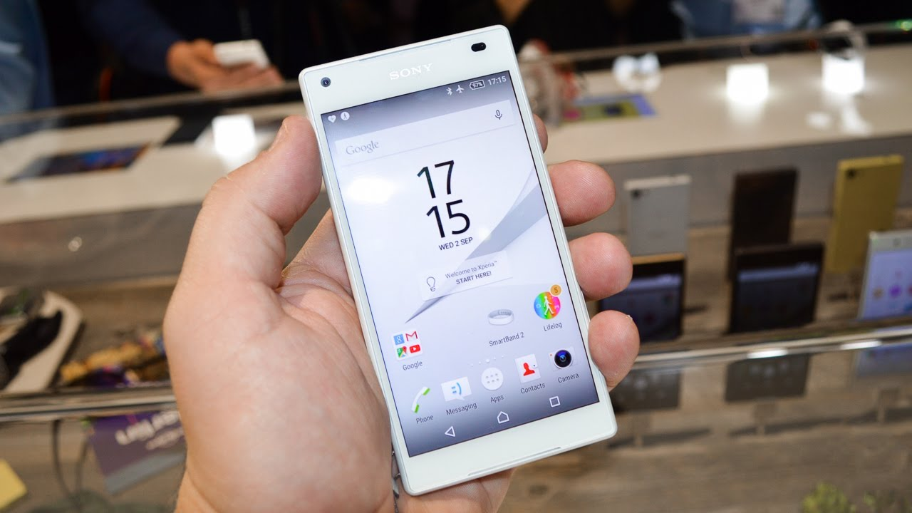 Sony Xperia Z5 Compact Hands-On (IFA 2015)