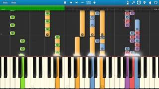 O Zone - Dragostea din tei - Piano Tutorial - Synthesia Cover
