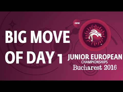 Big Move from Day 1 of the Junior European Championships