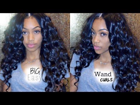 Hair Tutorial: Voluminous Wand Curls