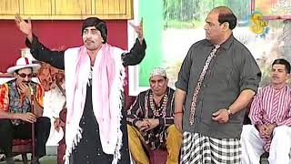 Sajan Abbas and Agha Majid New Pakistani Stage Drama Full Comedy Clip Banarsi