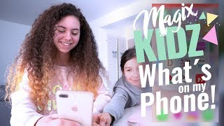 Marleens Whats on my Phone Tag / MAGIXKIDZ / MAGIXTHING
