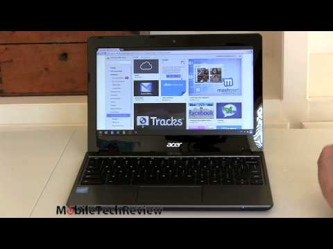 Acer Chromebook C720 Review video