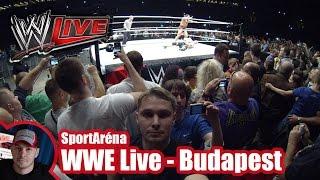 WWE live - Budapest, Papp László Budapest Sportaréna (2015/04/16)