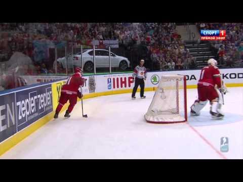 Минск 2014. ЧМ по хоккею. Россия - Беларусь 2:1. 2014 IIHF WС Russia - Belarus 2:1