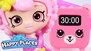 Shopkins | Happy Places - The Lil' Shoppies of Happyville - ALARM CLOCK - Cartoons for Children