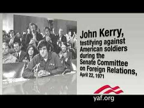 Senator John Kerry confronted about his anti-troops past