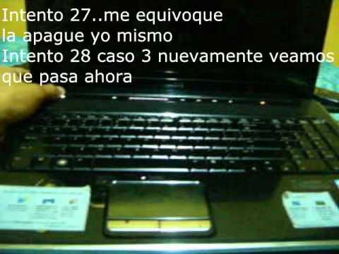 Problemas con laptop HP Pavilion dv7 3188cl