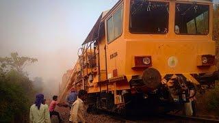 Amazing machine Repair Railway Track- Indian Railway