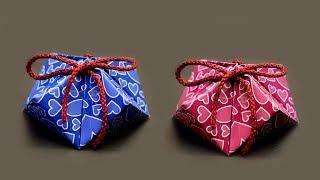DIY Gift Box | Paper Boxes | DIY Easy Paper Crafts | Diamond Box