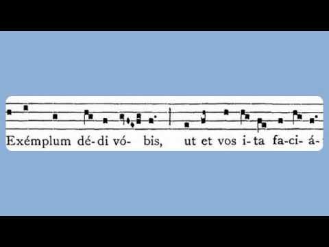 Gregorian Chant - Dominus Jesus