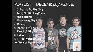 December Avenue Playlist 2018