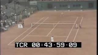 1974 French Open women's singles semifinals