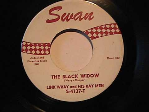 LINK WRAY AND HIS RAY MEN THE BLACK WIDOW SWAN RECORDS