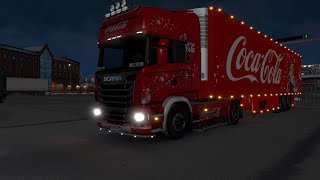 Holidays Are Coming With Euro Truck Simulator 2 And Coca Cola Truck !!