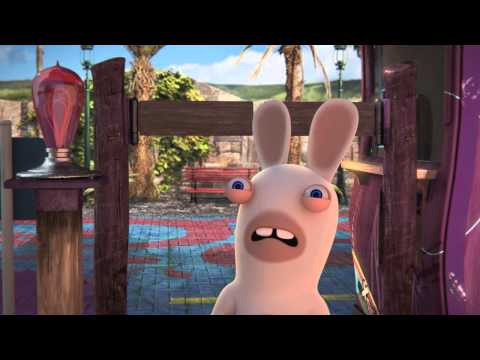 The Lapins Crétins Land - Trailer E3