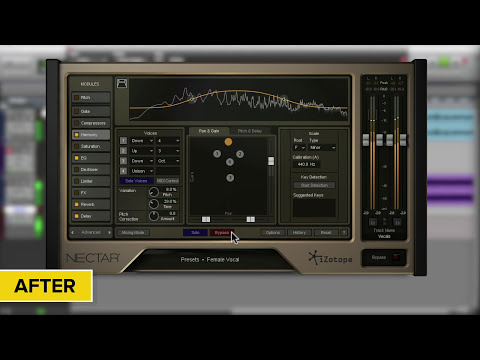 Harmonizing Vocals with iZotope's Nectar® 2