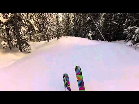 "Ted Ligety January ""training"" aka Powder skiing GoPro"