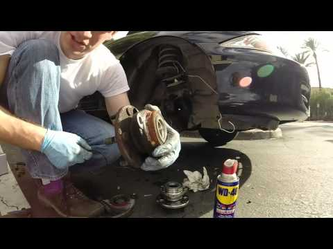 How to replace a front Hub / Bearing assembly 2000 Chevy cavalier / Pontiac sunfire