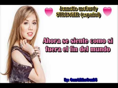 Jennette McCurdy - Stronger - español HD