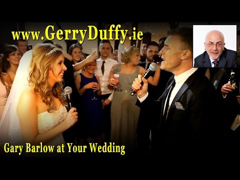 Gary Barlow GATE CRASHES a wedding
