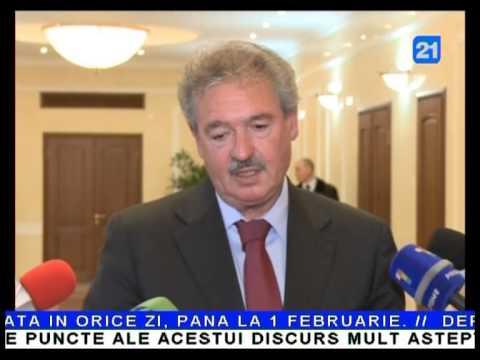 Nicolae Timofti,  întrevedere cu Jean Asselborn