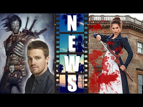 Stephen Amell in Teenage Mutant Ninja Turtles 2, Lily James fights Zombies 2016 - Beyond The Trailer