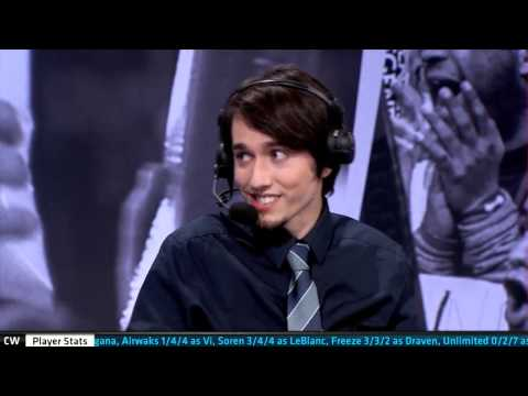 Fnatic vs Copenhagen Wolves post match analyst desk with Prolly   W6D2 S5 EU LCS Spring 2015