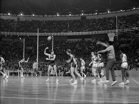 Classic highlights from the Mexico 1968 Olympic Games as the USA basketball team keep up their incredible record, winning a seventh consecutive gold medal in...