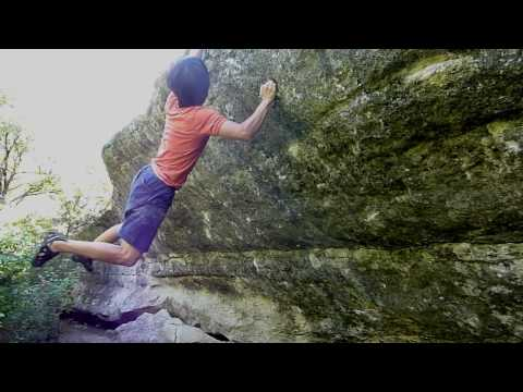 Rock Climbing - Mckinney Falls - Short and Sweet