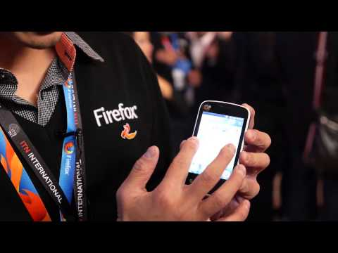 $25 Firefox Smartphone (MWC 2014)