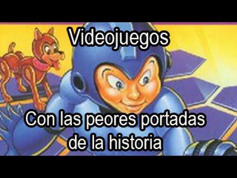 Videojuegos con las peores portadas de la historia