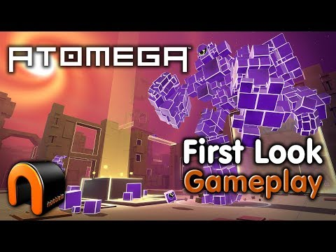 ATOMEGA - First Look Gameplay (Mini Multiplayer Shooter)