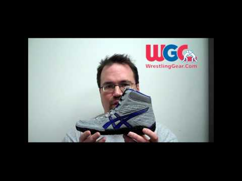 Wrestling Shoes - Aggressor from Asics - New for 2010 - 2011 Wrestling Season Video