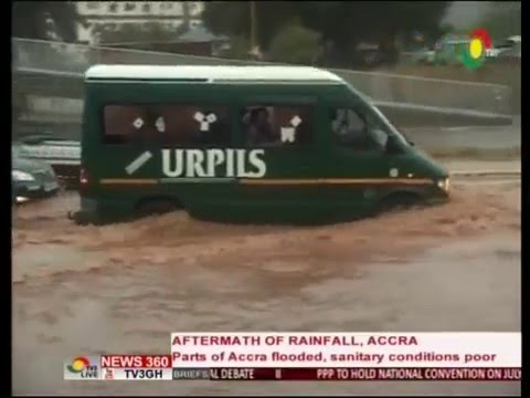 News360 - Aftermath of rainfall exposes sanitation problems in parts of Accra - 12/5/2016