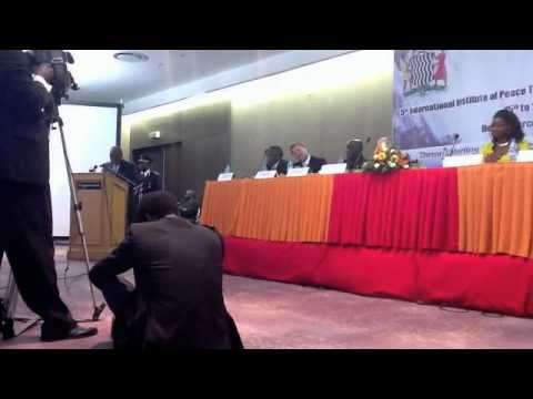 Rupiah Banda, Zambia president speaks on Climate change, tourism and peace (part 1)