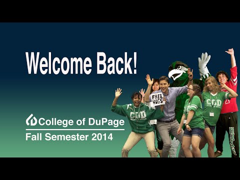 College of DuPage Welcome Back to School 2014