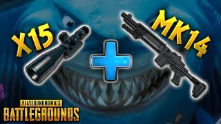 x15 Scope on MK14..!! | Best PUBG Moments and Funny Highlights - Ep.32