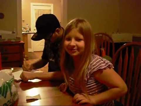 Preteen Girl Playing Shadowrun Pen and Paper Rpg Roleplaying Game - Jesus Reigns
