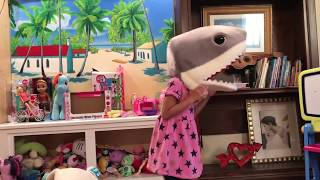 Baby Shark song and dance  with Claire